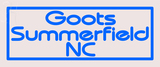 Custom Goots Summerfield Neon Sign 4