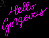 Custom Hello Gorgeous Neon Sign 1