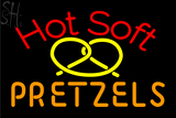 Custom Hot Soft Pretzels Neon Sign 1