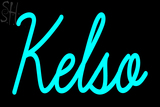 Custom Kelso Neon Sign 2