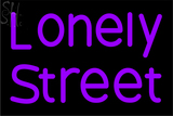 Custom Lonely Street Neon Sign 4