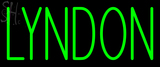 Custom Lyndon Neon Sign 1