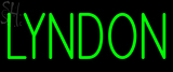 Custom Lyndon Neon Sign 2