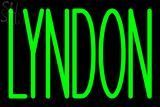 Custom Lyndon Neon Sign 4