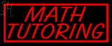 Custom Math Tutoring Neon Sign 2