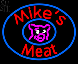 Custom Mikes Meat Neon Sign 4