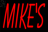 Custom Mikes Neon Sign 1
