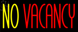Custom No Vacancy Neon Sign 2