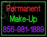 Custom Permanent Make Up 856 981 1889 Led Sign 1