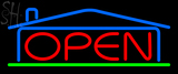 Custom Real Estate Open Neon Sign 2