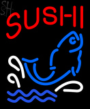 Custom Sushi With Fish Diet Neon Sign 1