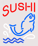 Custom Sushi With Fish Diet Neon Sign 2