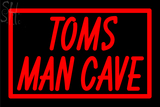 Custom Tom Mancave Troy Neon Sign 6