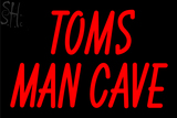 Custom Tom Mancave Troy Neon Sign 7