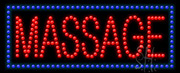 Massage LED Sign