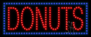 Donuts Logo LED Sign