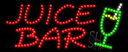 Juice Bar Logo LED Sign