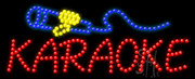 Karaoke Logo LED Sign