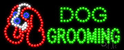 Dog Grooming LED Sign