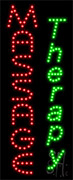 Massage Therapy LED Sign