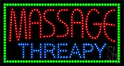 Massage Threapy LED Sign