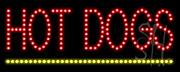 Hot Dogs LED Sign