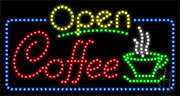 Coffee LED Sign