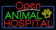 Animal Hospital LED Sign