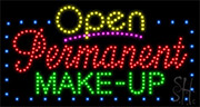 Permanent Make Up LED Sign