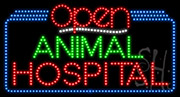 Animal Hospital Open LED Sign