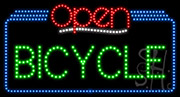 Bicycle Open LED Sign