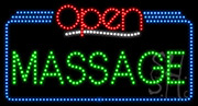 Massage Open LED Sign