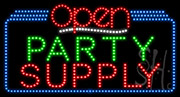 Party Supply Open LED Sign