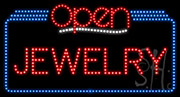 Jewelry Open LED Sign