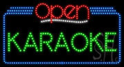 Karaoke Open LED Sign