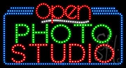 Photo Studio Open LED Sign