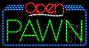 Pawn Open LED Sign