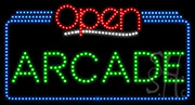 Arcade Open LED Sign