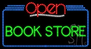 Book Store Open LED Sign