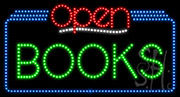 Books Open LED Sign
