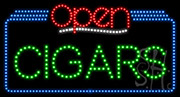 Cigars Open LED Sign