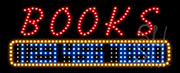 Books LED Sign