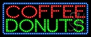Coffee Donuts LED Sign