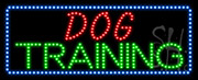 Dog Training LED Sign