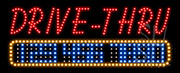 Open Drive-Thru LED Sign