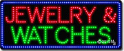 Jewelry and Watches LED Sign