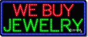 We Buy Jewelry LED Sign
