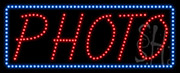Photo LED Sign