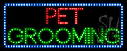 Pet Grooming LED Sign