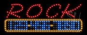 Rock and Roll LED Sign